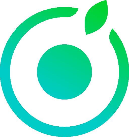 Aker ch logo symbol gradient